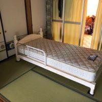 シングルベッド+ベッドガード