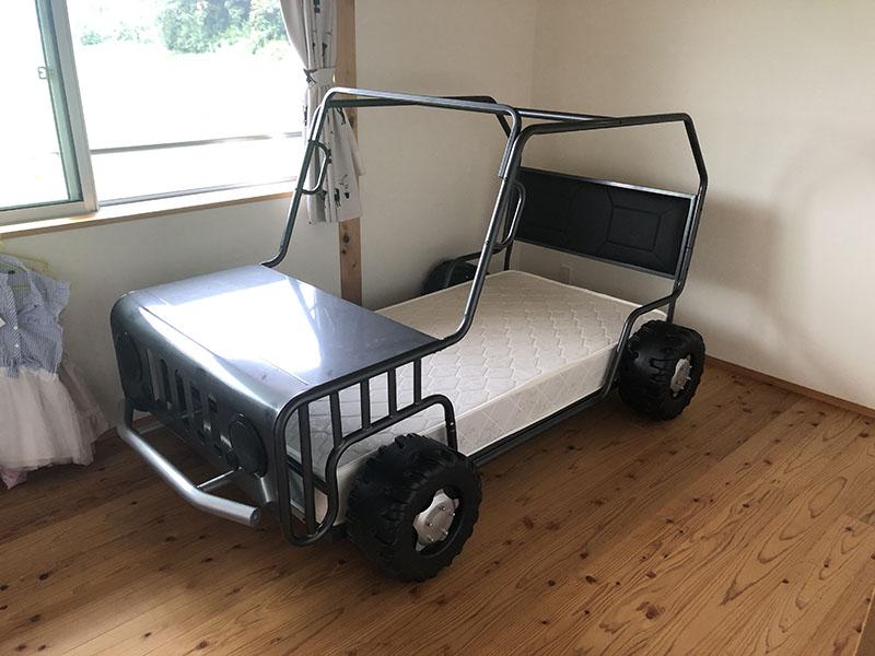 クルマ型シングルベッド