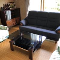 3Pソファー&ガラステーブル