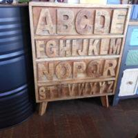 アルファベットチェスト
