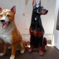 陶器の犬 2種