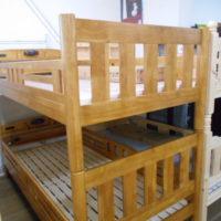 2段ベッド ラバーウッド
